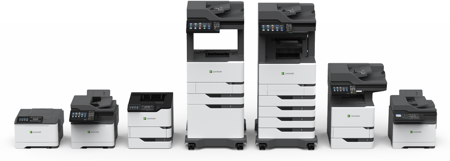 Lexmark's all-new portfolio of printers and MFPs