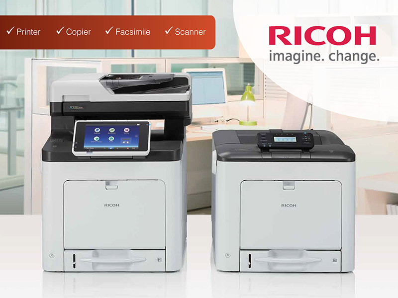 RICOH MFPs from ARLINGTON.