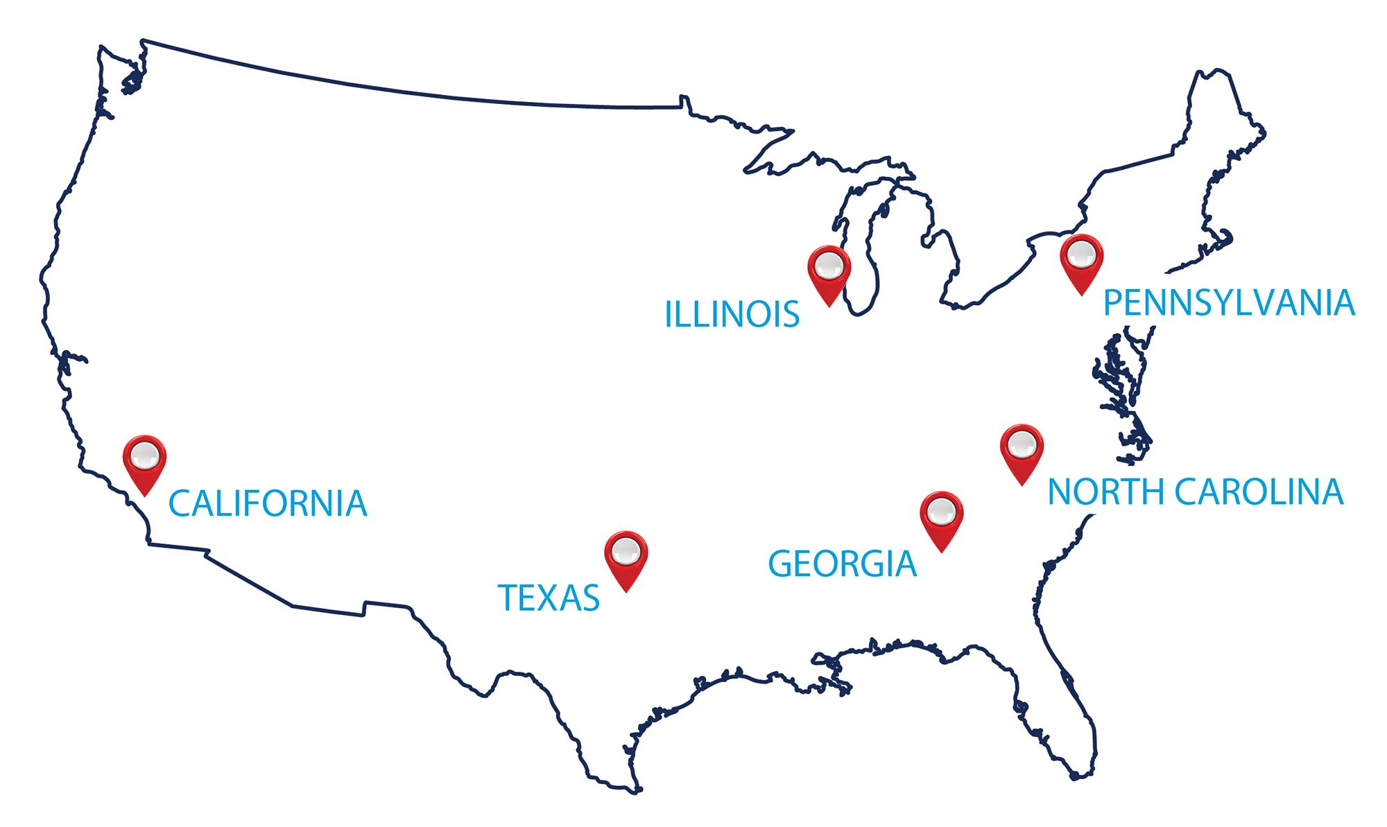 2019 ARLINGTON Distribution Map