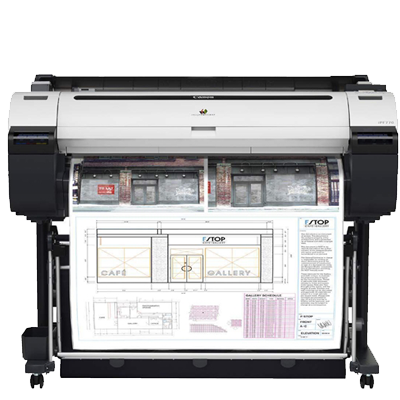 Canon imagePROGRAF iPF770 Large Format Printer