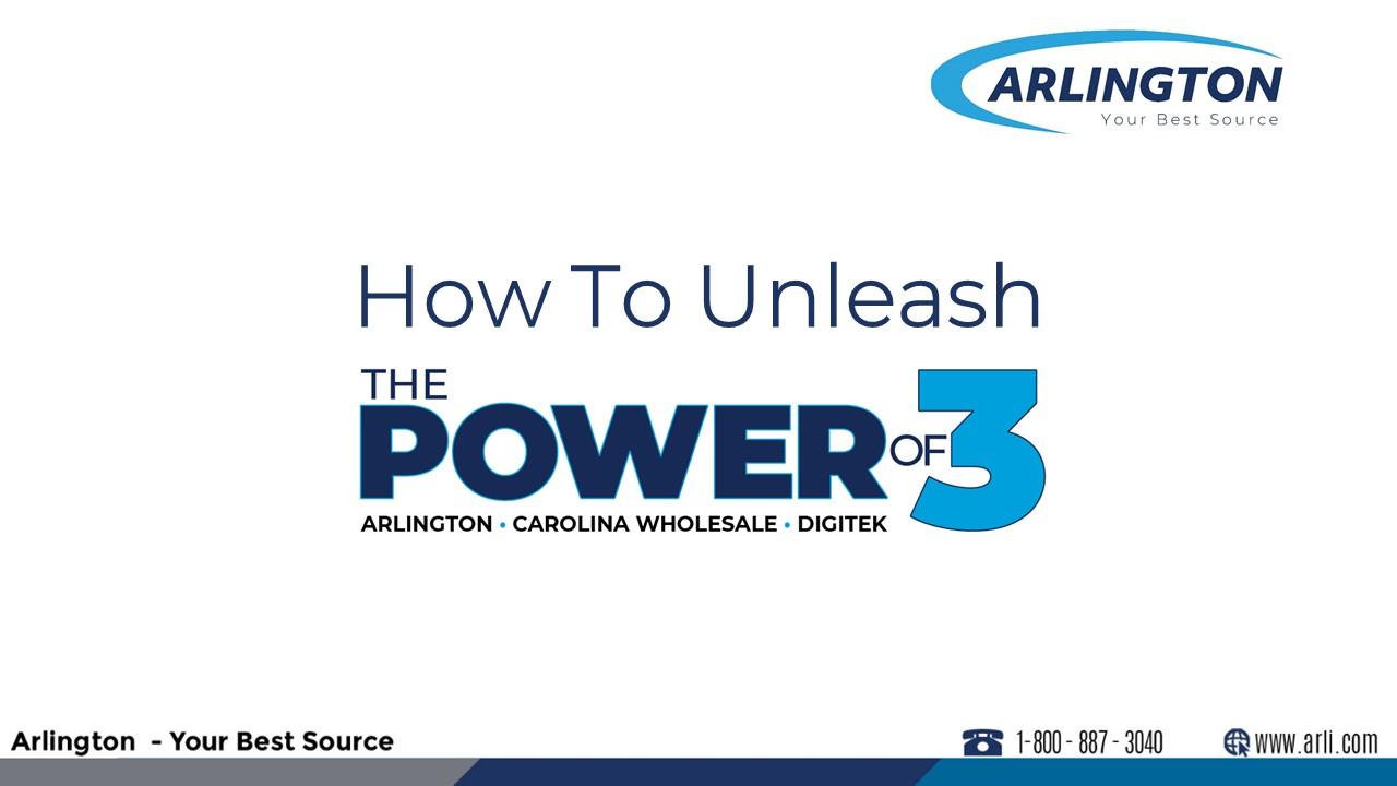 How To Unleash The Power of 3 ARLINGTON Webinar