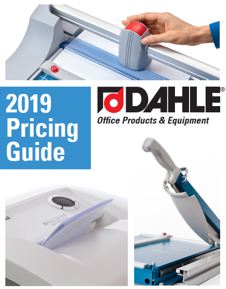 DAHLE Office Products and Equipment 2019 Pricing Guide