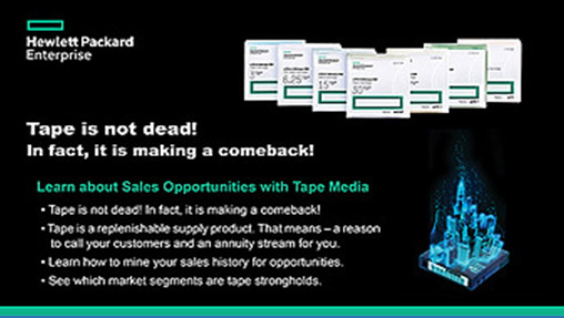 Tape is not dead! In fact, it is making a comeback! Webinar Presented by ARLINGTON