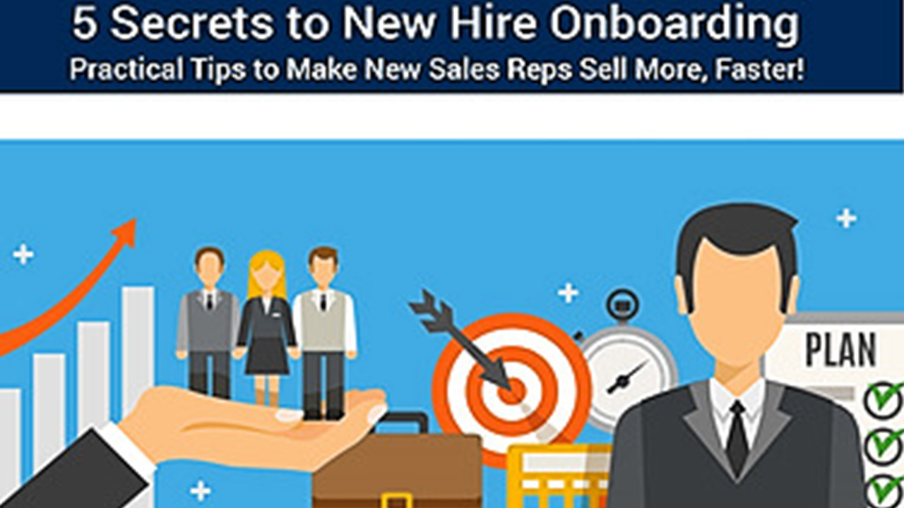 5 Secrets to New Hire Onboarding Webinar