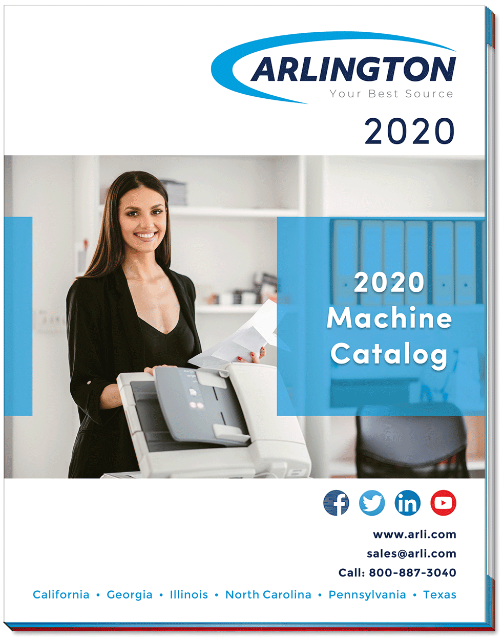 2020 ARLINGTON Machine Catalog