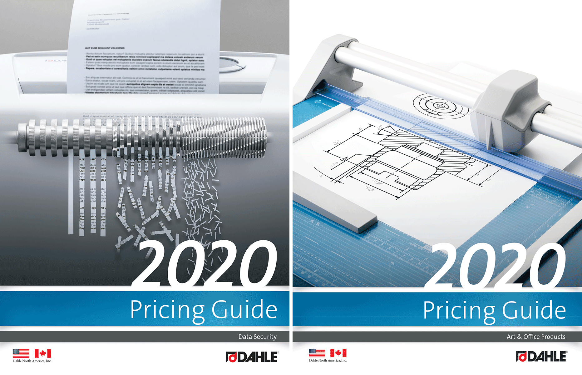 2020 Dahle Pricing Guide