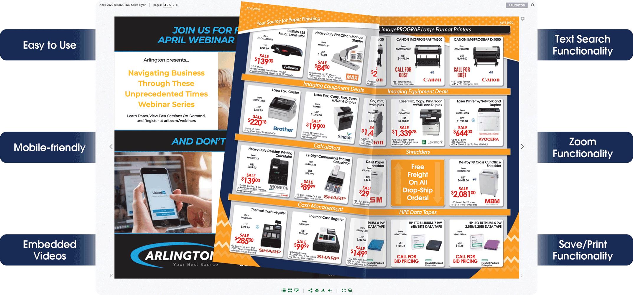 April 2020 ARLINGTON Sales Flyer
