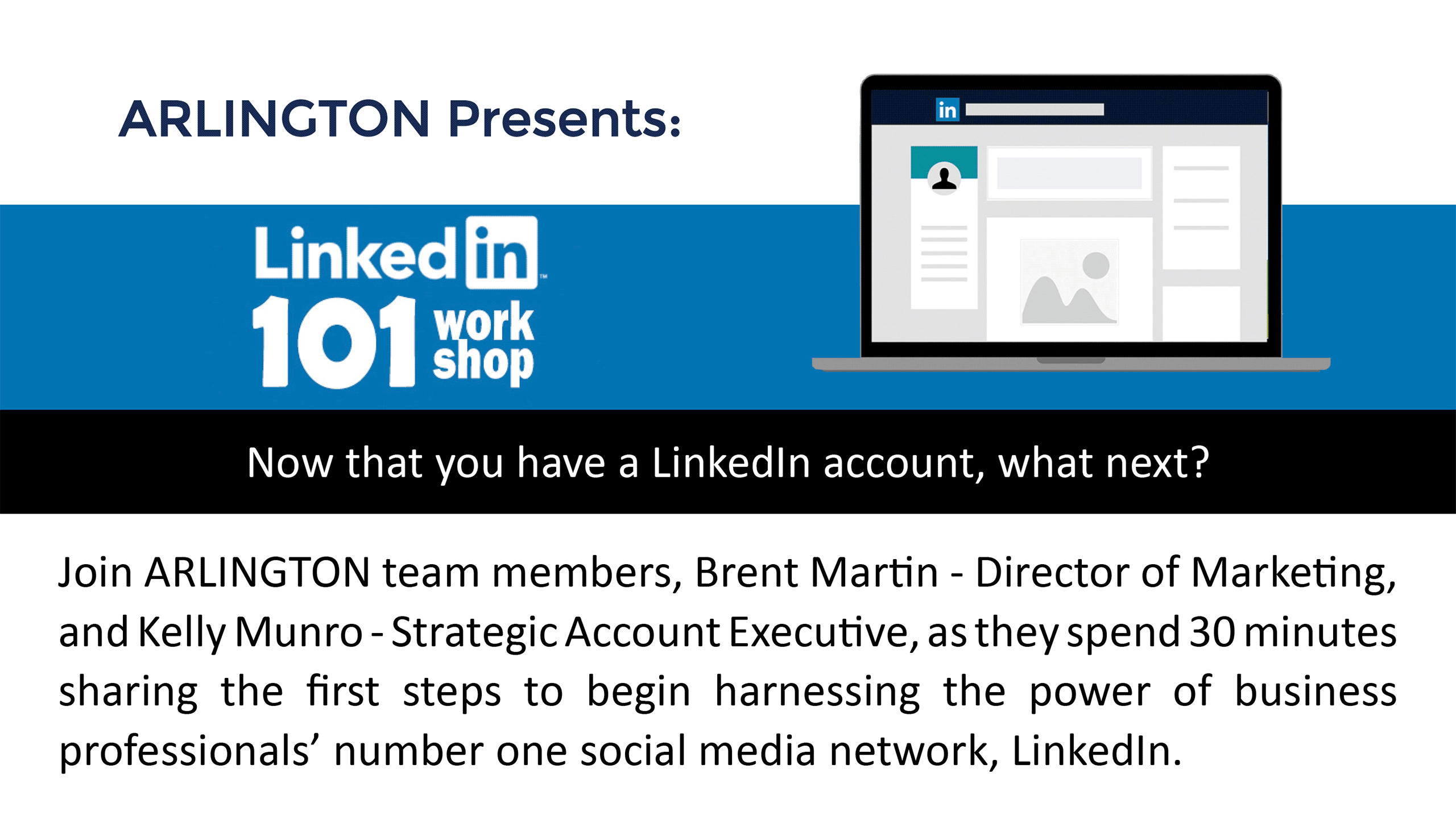 LinkedIn 101 Work Shop