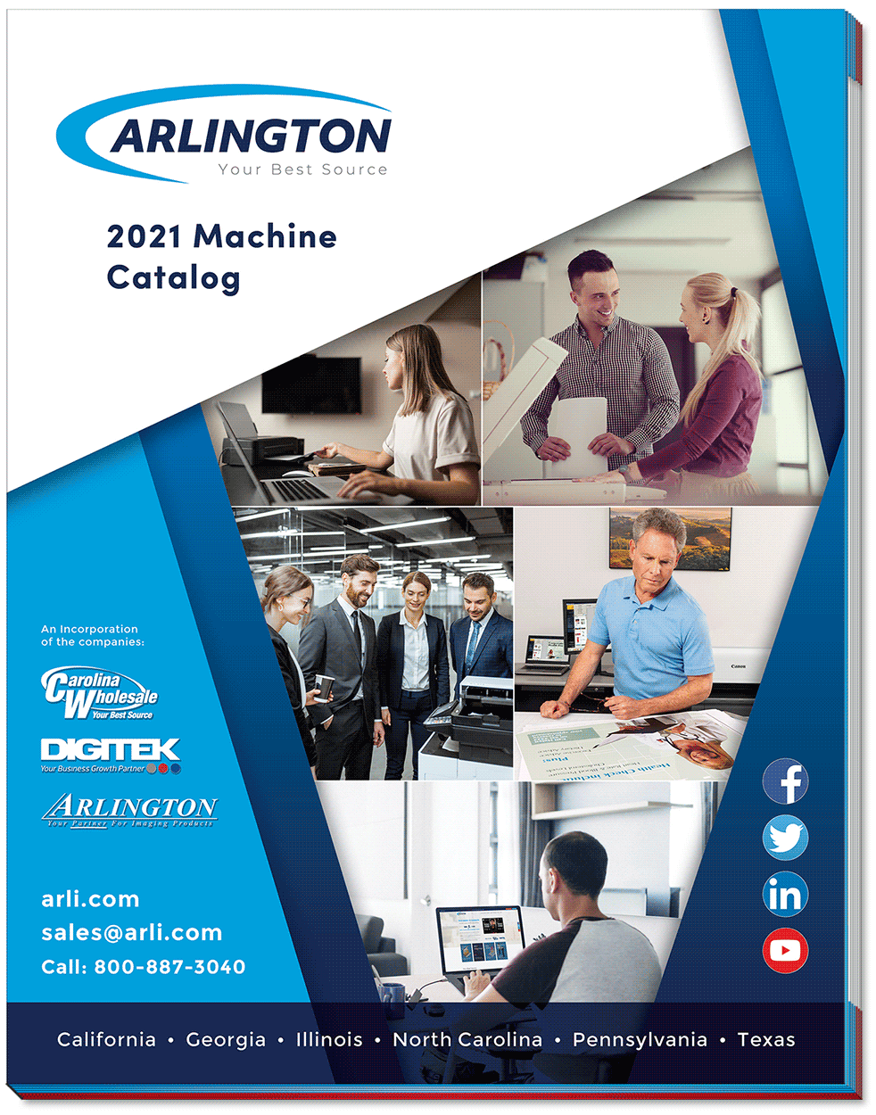 2021 ARLINGTON Machine Catalog
